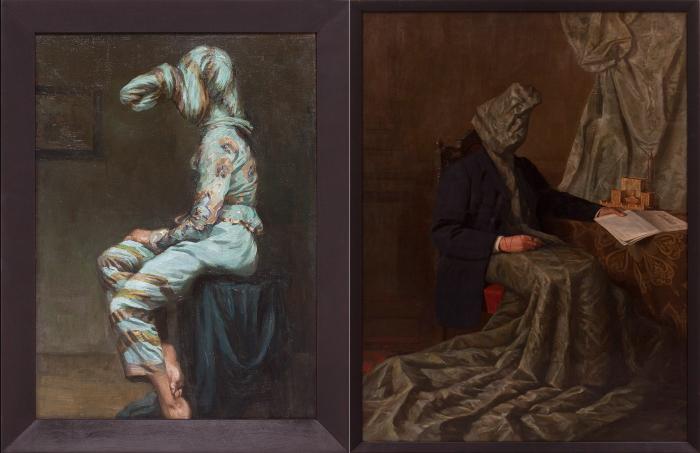 Специфические картины Маркуса Шинвальда (Markus-Schinwald).
