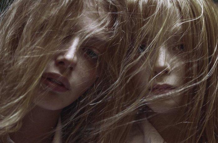 Ветер в волосах. Marta Bevacqua.