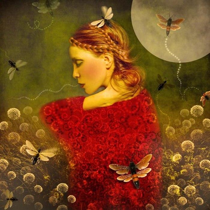 Лунный сад. Автор: Marta Orlowska.