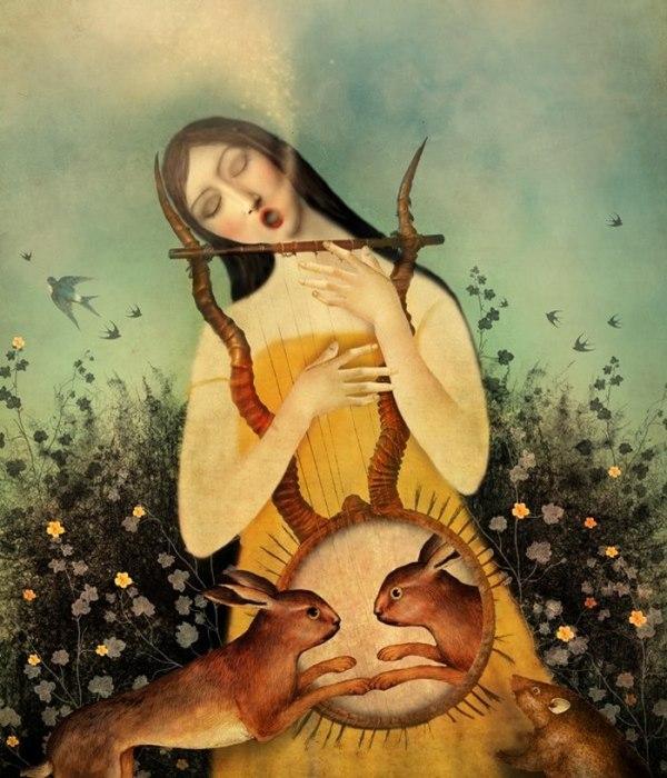 Когда она пела громко. Автор: Marta Orlowska.