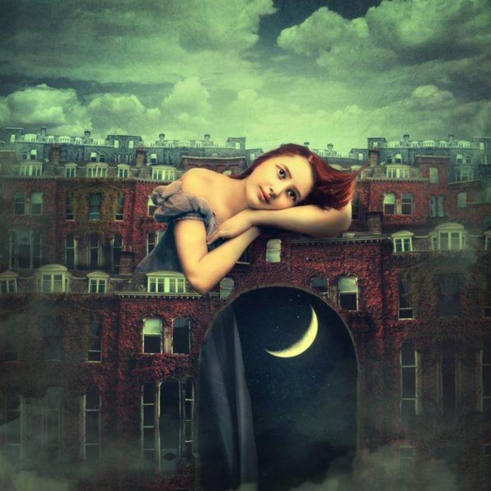 Она любит день и ночь. Автор: Marta Orlowska.