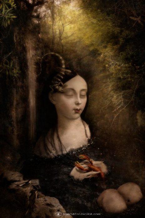 Светлый сон. Автор: Marta Orlowska.