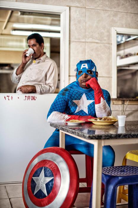 Капитан Америка - Суреш, Индия. Автор фото: Martin Beck.