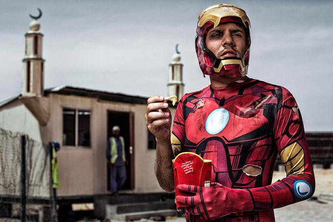 Железный Человек - Ахмед, Саудовская Аравия. Автор фото: Martin Beck.
