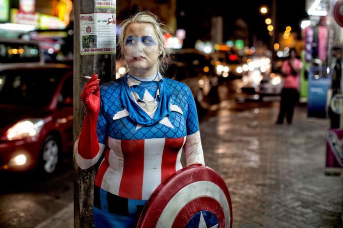 Капитан Америка - Джорджина, Новая Зеландия. Автор фото: Martin Beck.