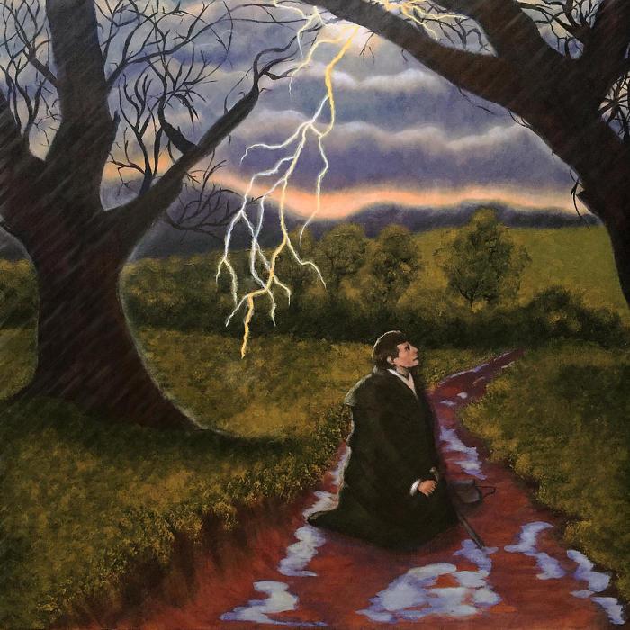 Реформация Мартина Лютера «Буря» - это картина Тами Далтона, продемонстрированная 5 ноября 2015 года.  Фото: fineartamerica.com.