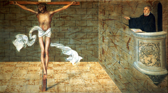 Антисемитские взгляды Мартина Лютера.  Фото: evangelisch.de.