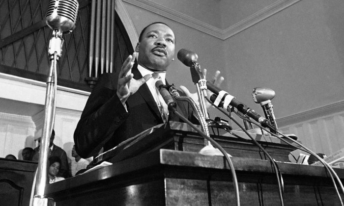 Мартин Лютер Кинг.  Фото: eurotopics.net.
