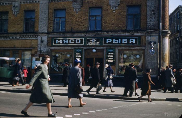 Магазин № 20, Москва. Автор: Martin Manhoff.