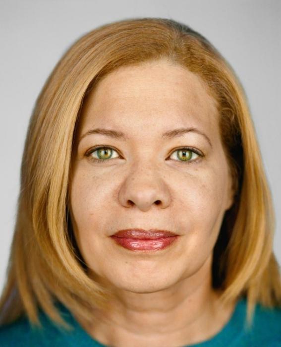 Сандра Уильямс, 46 лет.   Расово-национальная принадлежность: Чёрнокожая, принадлежит к двум расам.
