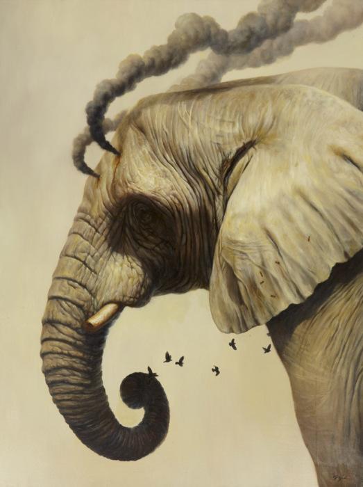 Картины современного художника Мартина Виттфута (Martin Wittfooth).