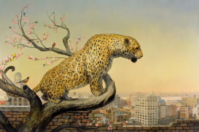 ������� � ���������. �������� ������ ������� (Martin Wittfooth).
