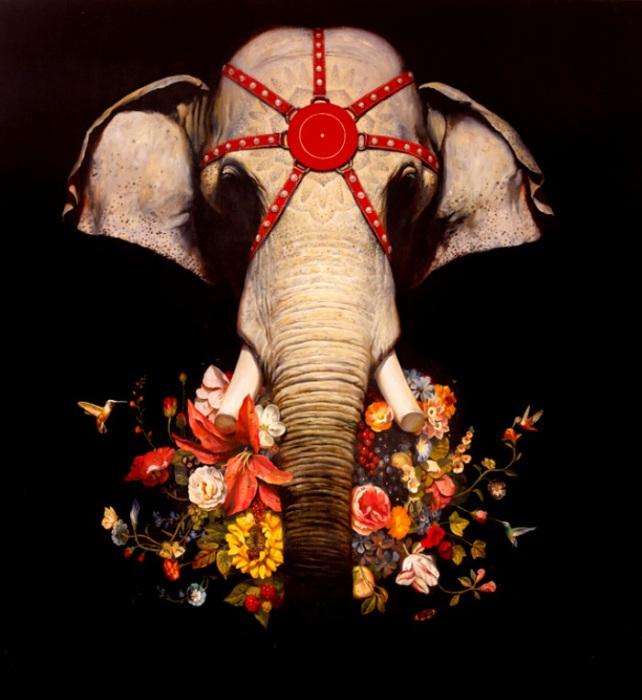 Проникновенные картины животных в постапокалиптической среде. Художник Мартин Виттфут (Martin Wittfooth).