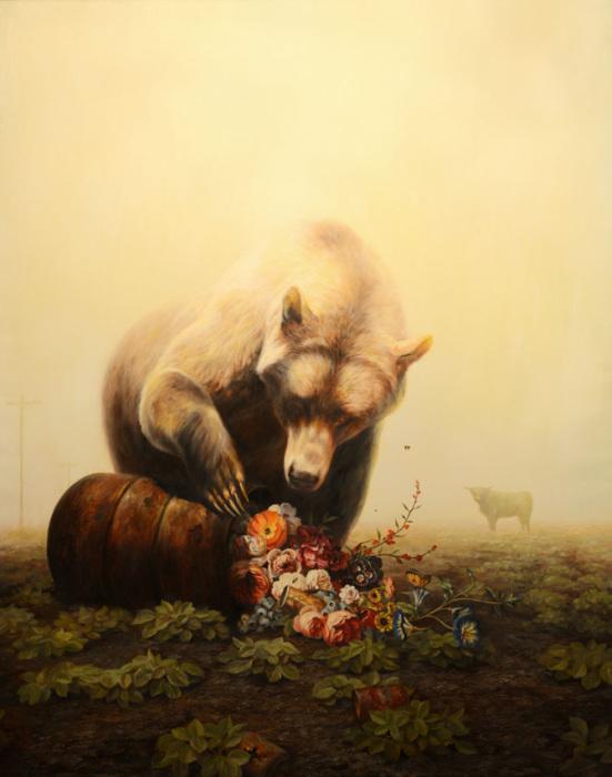 Животные в постапокалиптической среде. Художник Мартин Виттфут (Martin Wittfooth).
