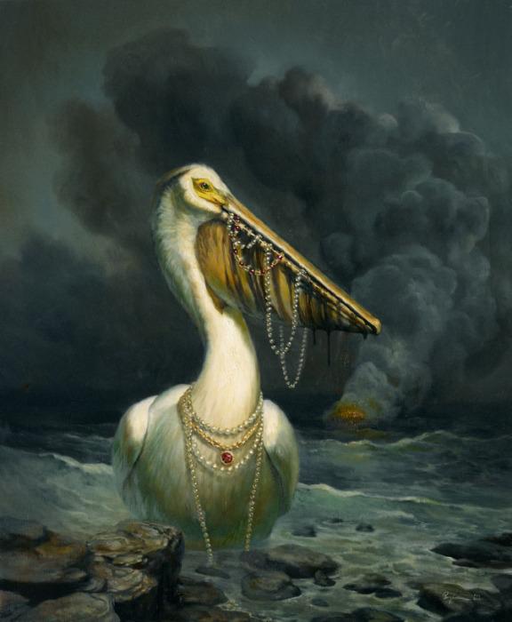Картины художника Мартина Виттфута (Martin Wittfooth).