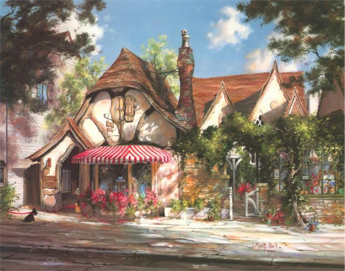 Сказочные домики Марти Белл.