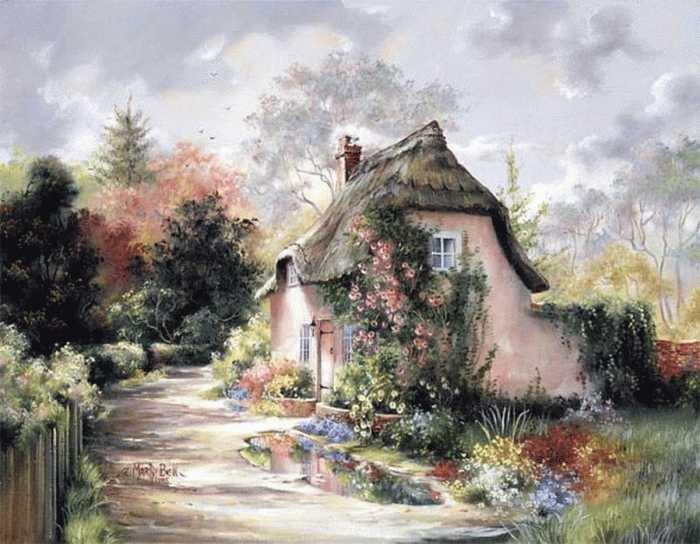 Ах, глаз моих очарованье и радости души полна, когда смотрю на дом свой, то улыбаюсь я всегда. Автор: Marty Bell.