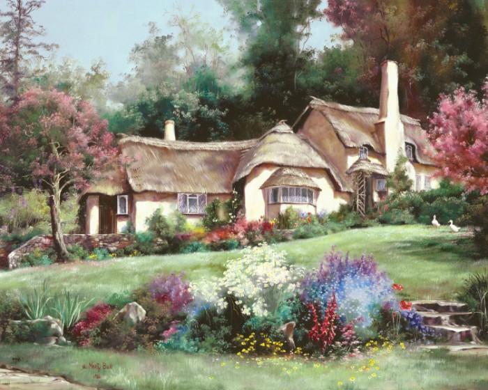 Дом - место в котором ты не только родился и вырос, но и в которое всегда можешь вернуться... Автор: Marty Bell.