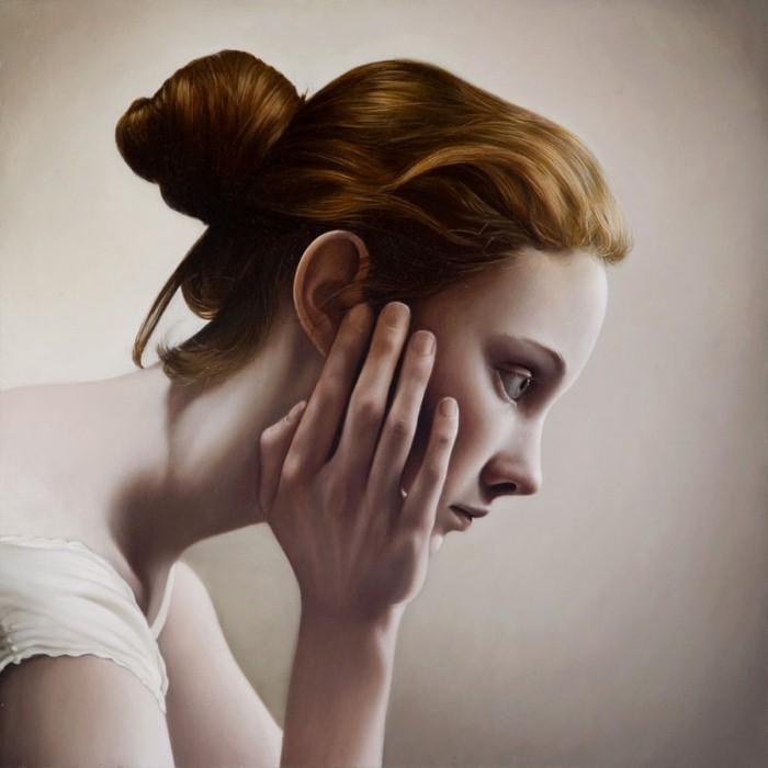 Задумчивые образы в работах Мэри Джейн Анселл (Mary Jane Ansell).