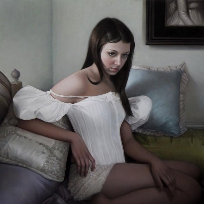 Впечатляющие картины Мэри Джейн Анселл (Mary Jane Ansell).