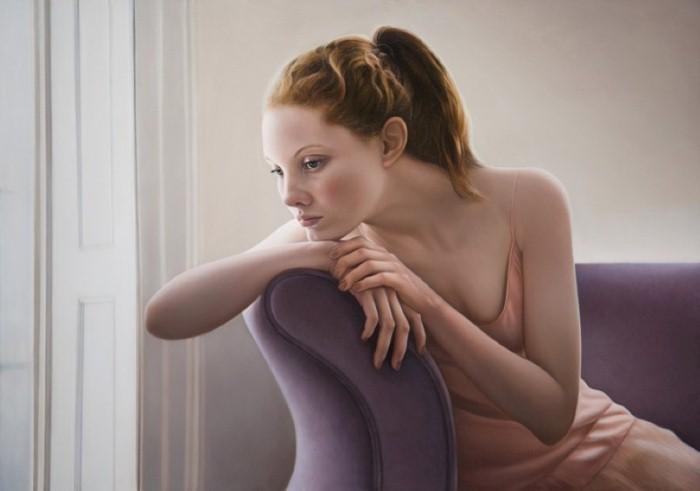 Реалистичные картины Мэри Джейн Анселл (Mary Jane Ansell).
