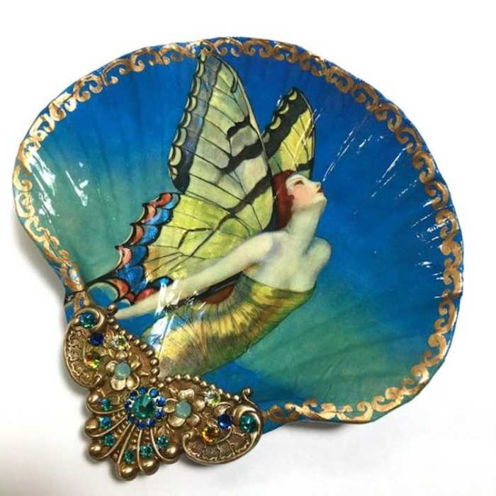 Крылья бабочки. Автор: Mary Kenyon.