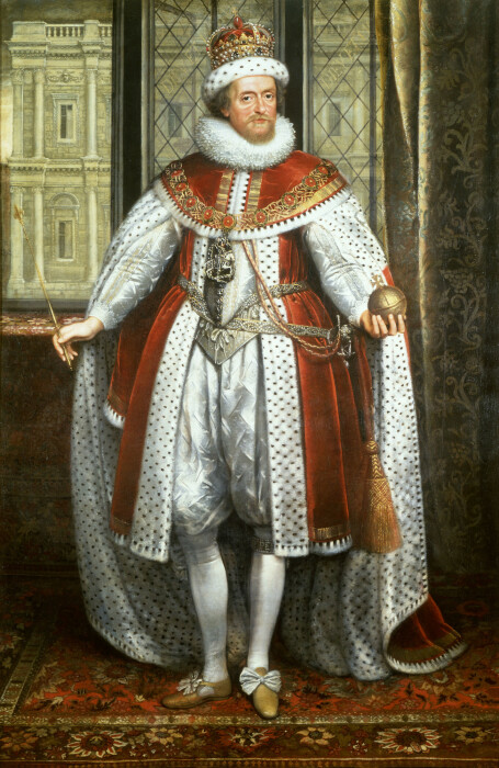 Яков VI король Шотландии, а также король Англии и Ирландии Яков I. \ Фото: uk.wikipedia.org.