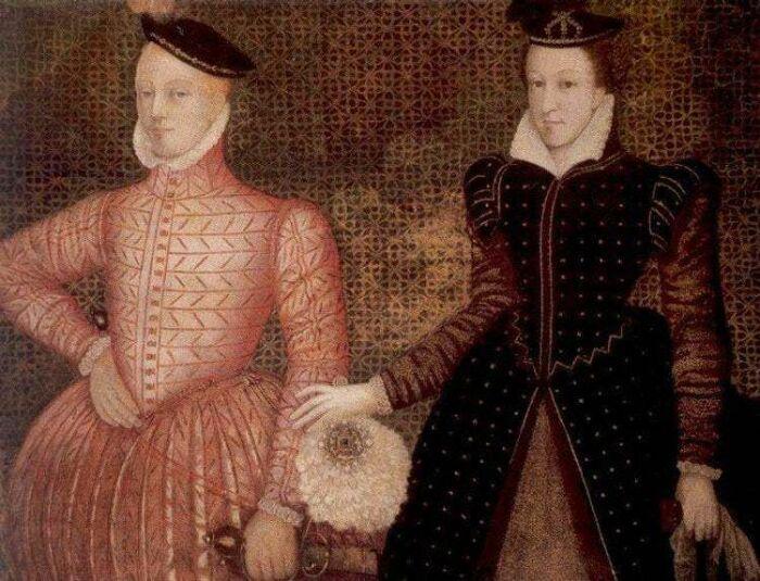 Лорд Дарнли и Мария. \ Фото: es.qaz.wik.
