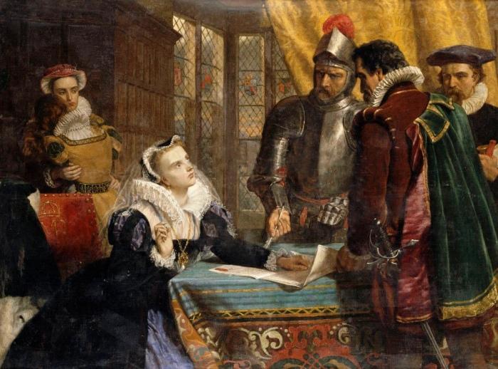 Мария отказывается от престола. \ Фото: liveinternet.ru.