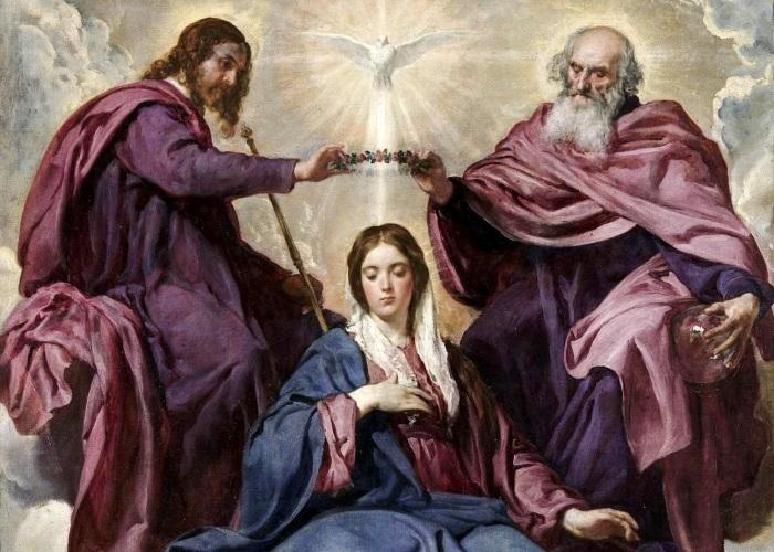 Пресвятая Дева Мария.