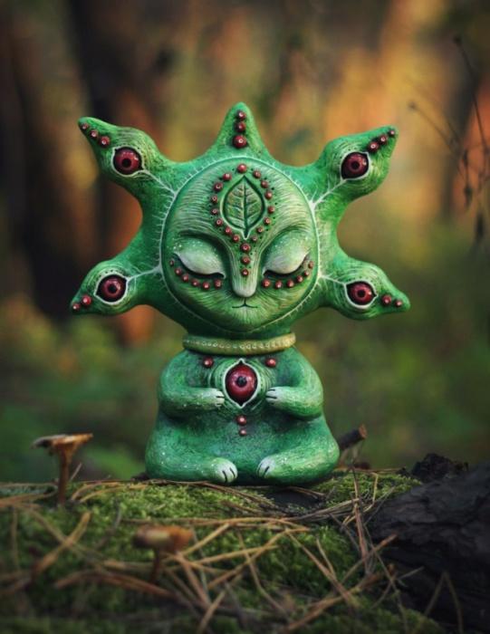Лесной Сновидец. Необычные игрушки от мастерицы Марьяны Копыловой.