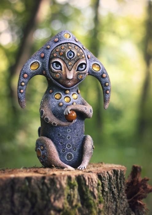 Хранитель Солнечной Планеты. Необычные игрушки от мастерицы Марьяны Копыловой.