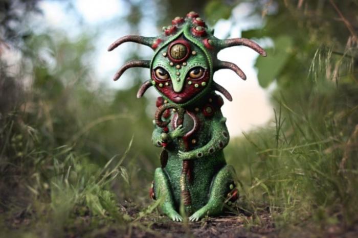 Страж Лесного Покоя. Необычные игрушки от мастерицы Марьяны Копыловой.