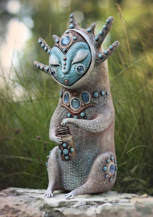 Собиратель Утренней Росы. Необычные игрушки от мастерицы Марьяны Копыловой.