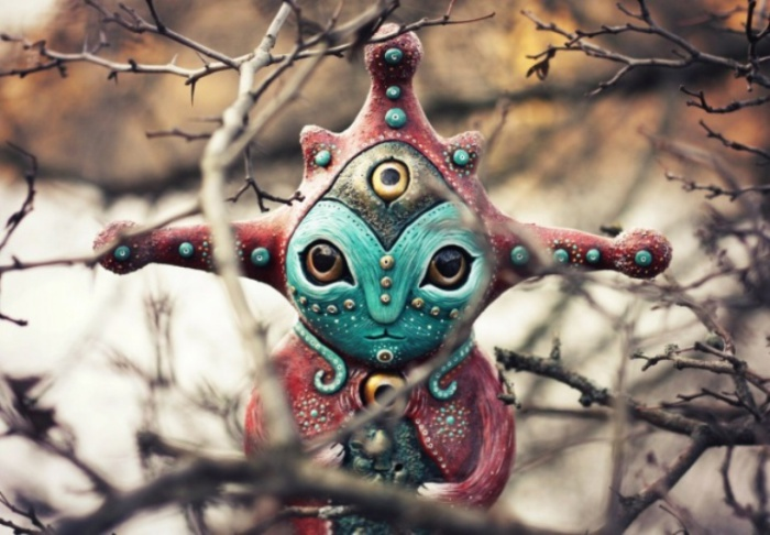 Хранитель Внутреннего Моря. Необычные игрушки от мастерицы Марьяны Копыловой.