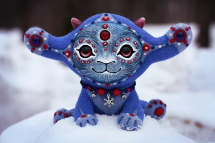 Ниабо. Хозяин снежных угодий. Необычные игрушки от мастерицы Марьяны Копыловой.