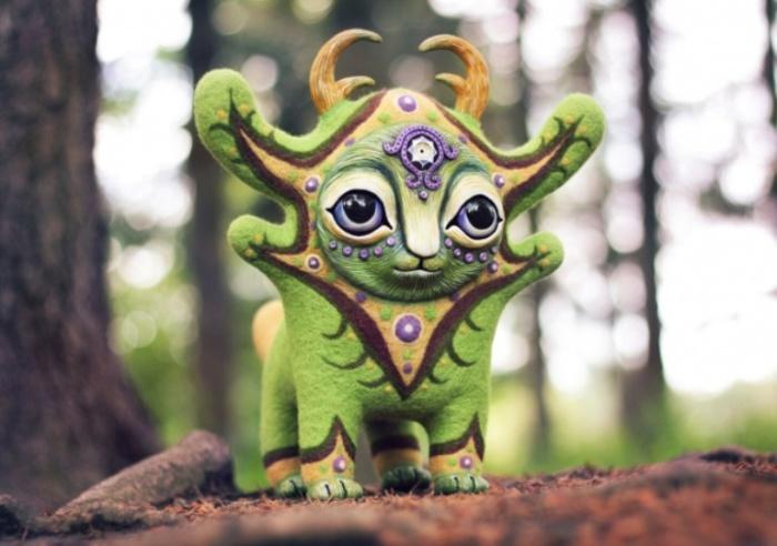 Соату. Хранитель древесных духов. Необычные игрушки от мастерицы Марьяны Копыловой.
