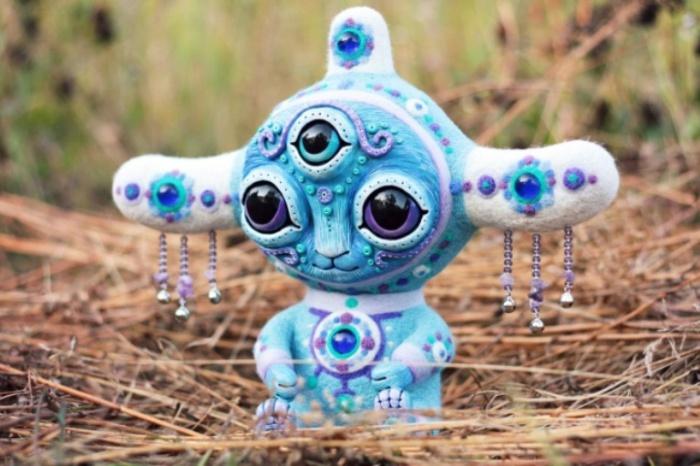 Акивни. Говорящий с ветром. Необычные игрушки от мастерицы Марьяны Копыловой.