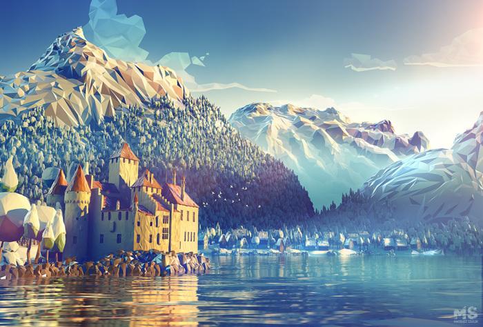 Швейцария. Автор: Mat Szulik.
