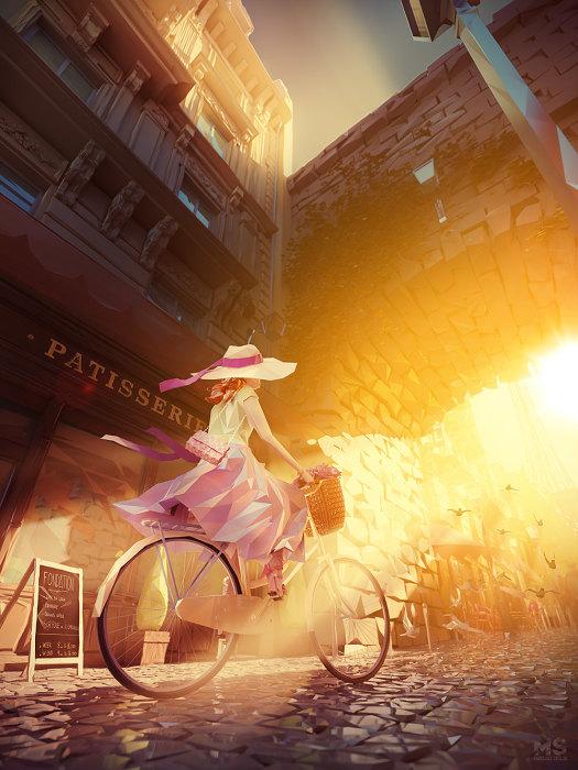На встречу солнечному свету. Автор: Mat Szulik.