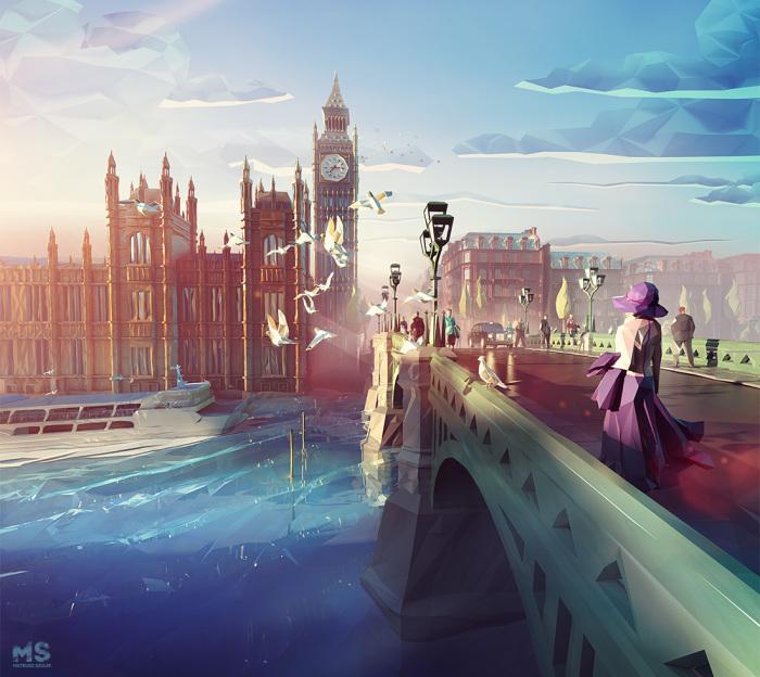 Лондон. Автор: Mat Szulik.
