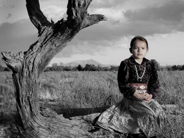 Бахажони Цо, народ навахо. Автор: Matika Wilbur.