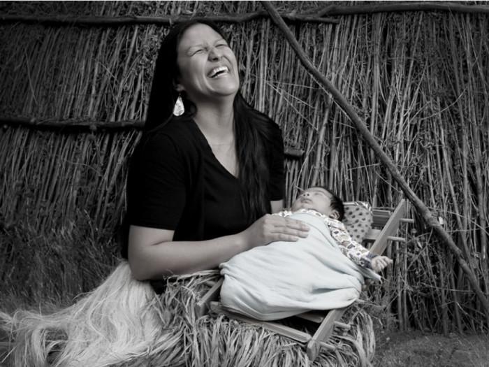 Майра Масиель Замора, группа печанга индейцев племени луисеньо. Автор: Matika Wilbur.