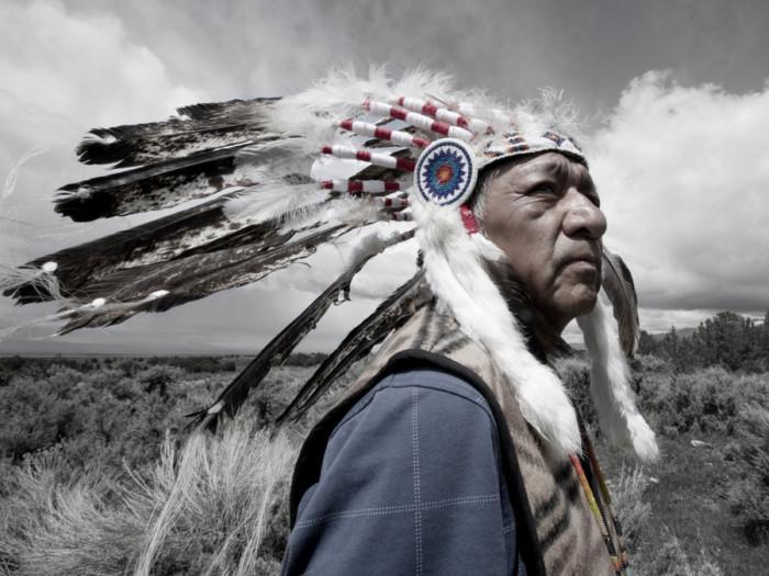Руперт Стил, племя гошуты. Автор: Matika Wilbur. Автор: Matika Wilbur.