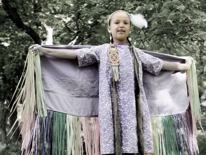 Эйли Фрегозо, племя сиу, Шайенн-Ривер. Автор: Matika Wilbur.