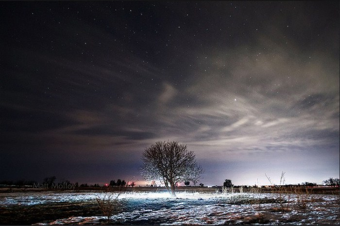 Звёздное небо. Автор фото: Мэтт Моллой (Matt Molloy).