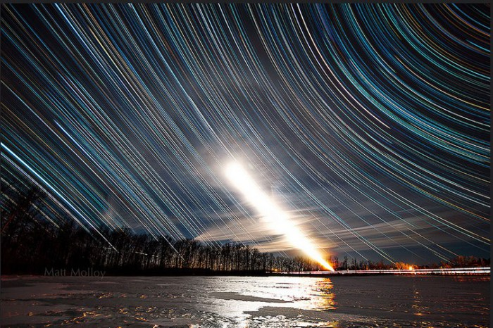 Фантастическое небо.  Автор фото: Мэтт Моллой (Matt Molloy).