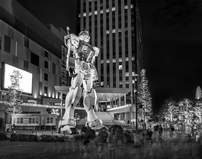 Гандам (Gundam), Токио, 2014 г. Автор фото: Matthew Pillsbury.