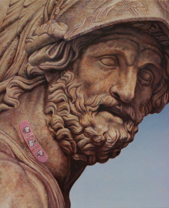 Хэллоу Китти. Работы креативного австралийского художника Мэтью Квика (Matthew Quick).