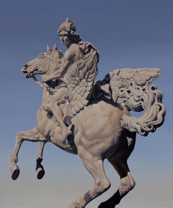 Луис Виттон. Работы креативного австралийского художника Мэтью Квика (Matthew Quick).